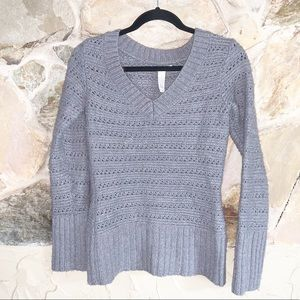 Lucky Brand Alpaca And Wool Blend Sweater